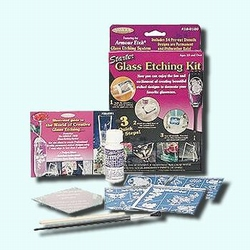 Starter Glass Etching Kit