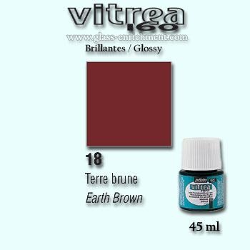 VIT 160 gloss 45 ml earth brown