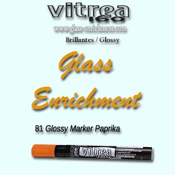 VIT 160 gloss marker paprika