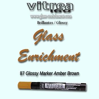 VIT 160 gloss marker brown