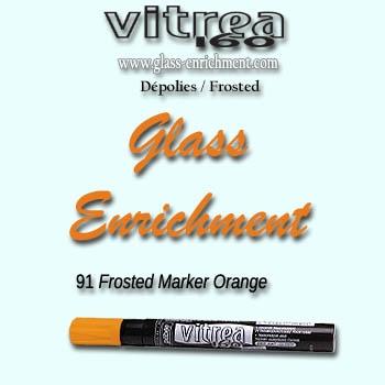 VIT 160 frosted marker orange