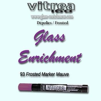 VIT 160 frosted marker purple