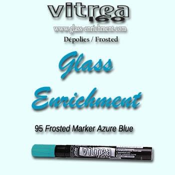 VIT 160 frosted marker azure