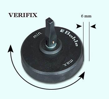 VERIFIX  Excenteraanslag, 70 mm