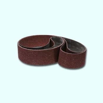 Aluminium Oxide grinding/polishing belt, 600 grit, Two-Pack