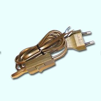 Anschlußkabel, 3 mtr, mit Stecker, mit schalter