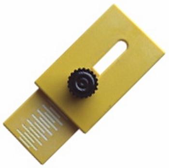 Morton glass stopper, jaune, 1 piece