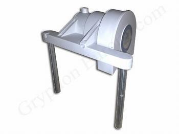 C40 Motor Housing (Pressure spring incl. )
