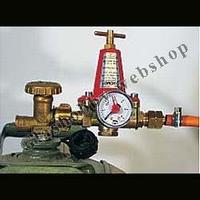 Propaan gasdruk regelaar met manometer