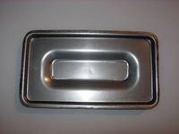 Stainless steel Fusing mould 220 x 115 x 19 mm