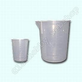 Mengbeker, PP (Polypropyleen), 600 ml