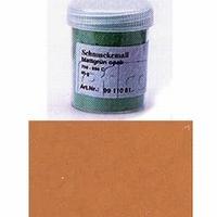 Enamel powder opaque terra
