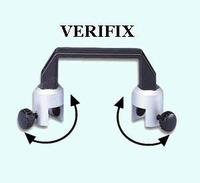 VERIFIX klemhouder voor glasdikten 6 - 19 mm