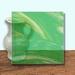 Glass Art Film, Light Green Wisp 46 cm x 33 cm