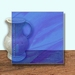 Glass Art Film, Dark Blue Wisp 46 cm x 33 cm