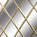 Plaklood (zelfklevend), 6 mm, Oval, 50 m, Gold