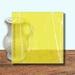 Glass Art Film, Canary Yellow Marble 46 cm x 33 cm