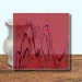 Glass Art Film, Deep Red Marble 46 cm x 33 cm