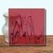 Glass Art Film, Deep Red Marble 46 cm x 33 cm