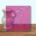 Glass Art Film, Lavender Marble 46 cm x 33 cm