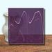 Glass Art Film, Deep Violet Marble 46 cm x 33 cm