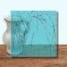 Glass Art Film, Sky Blue Marble 46 cm x 33 cm