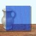 Glass Art Film, Dark Blue Marble 46 cm x 33 cm