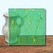 Glass Art Film, Mint Green Marble 46 cm x 33 cm