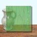 Glass Art Film, Green Pepper Marble 46 cm x 33 cm