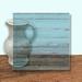 Glass Art Film, Light Blue Grain 46 cm x 33 cm