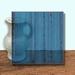 Glass Art Film, Dark Blue Grain 46 cm x 33 cm