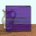 Glass Art Film, Light Purple Grain 46 cm x 33 cm