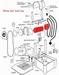 Motor Met gemonteerder eindkap en aansluitsnoer